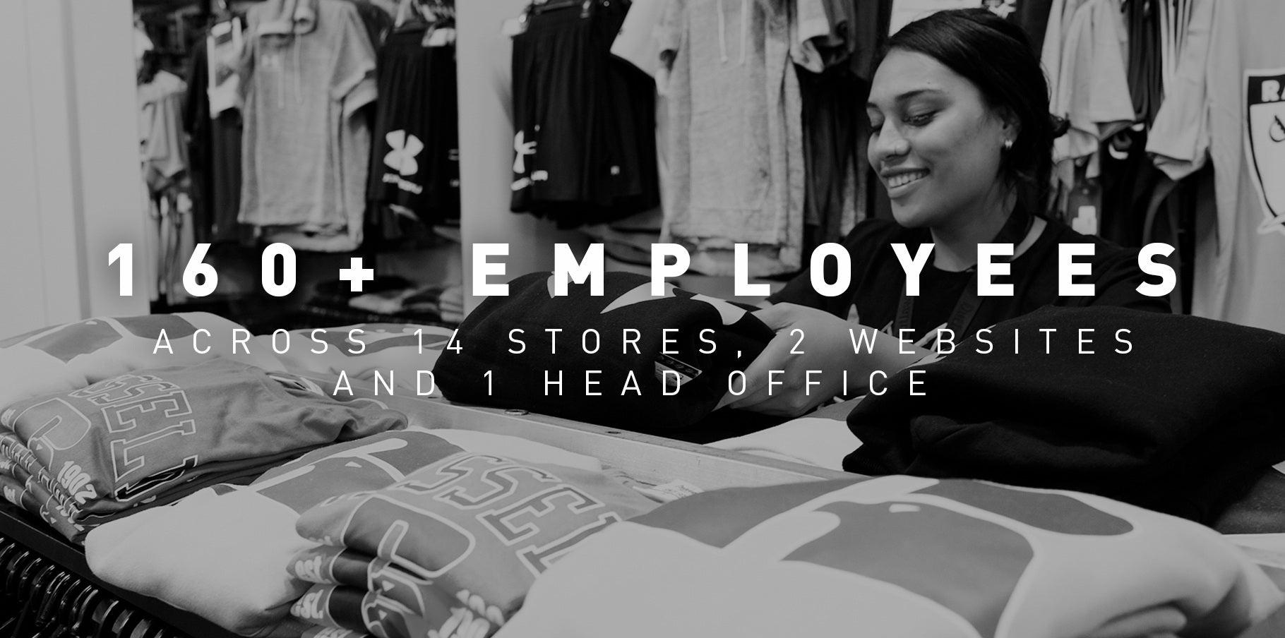 160+ Employees