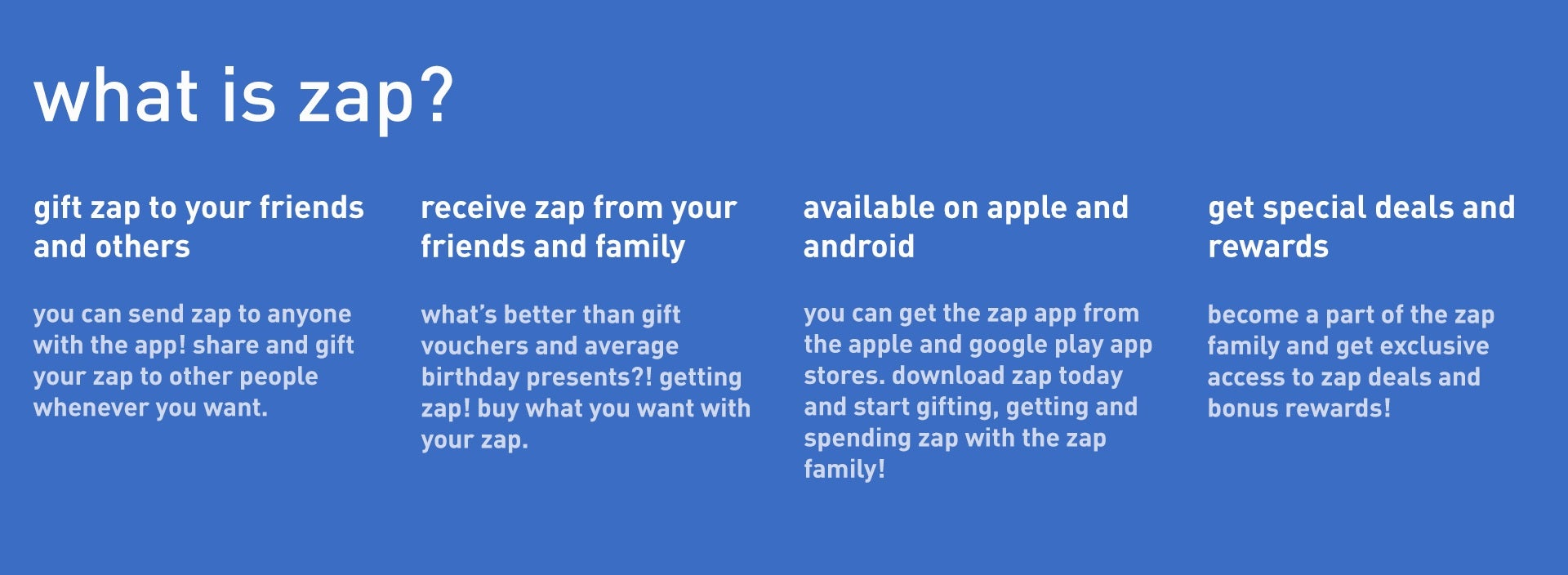 What is zap