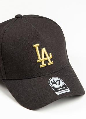 47 Brand MLB Los Angeles Dodgers Metallic MVP DT Snapback
