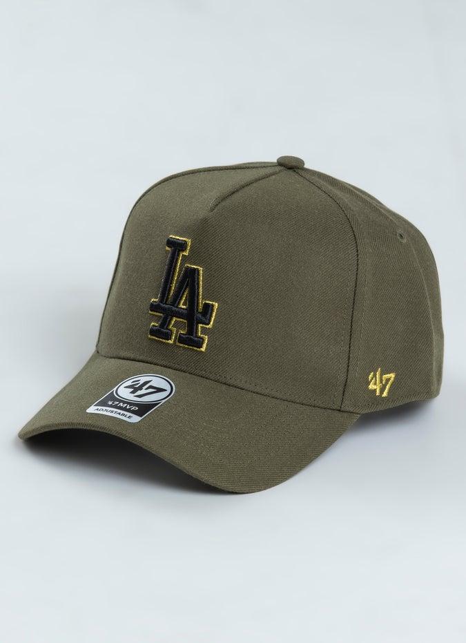 '47 Brand MLB Los Angeles Dodgers Metallic MVP DT Snapback Cap