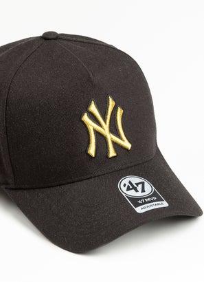 47 Brand MLB New York Yankees Metallic MVP DT Snapback Cap