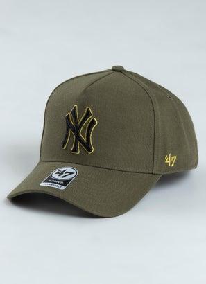 '47 Brand MLB New York Yankees Metallic MVP DT Snapback Cap