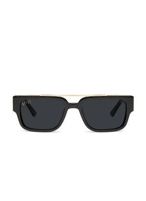 9FIVE 24 Black & 24K Gold Sunglasses