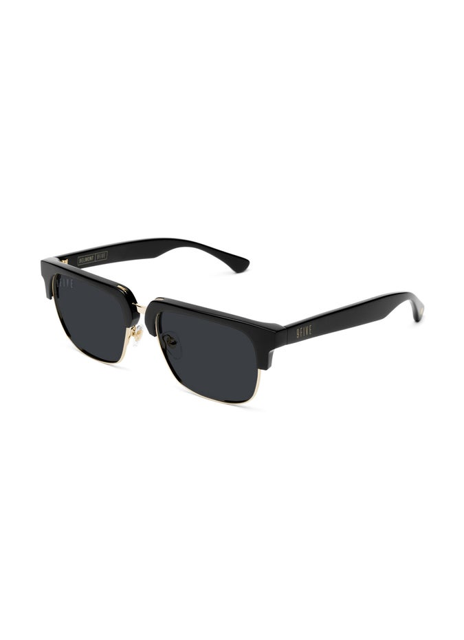 9FIVE Belmont Black & 24K Gold Sunglasses