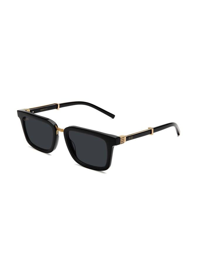 9FIVE Bishop Black & 24K Gold Sunglasses