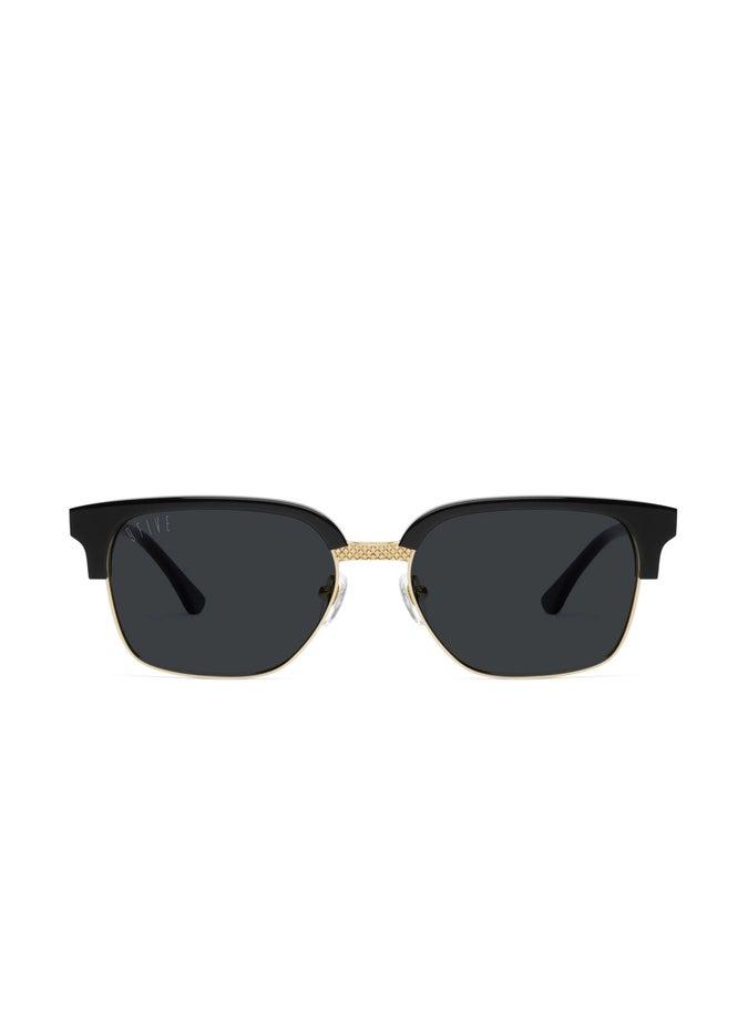 9FIVE Estate Black & 24k Gold Sunglasses