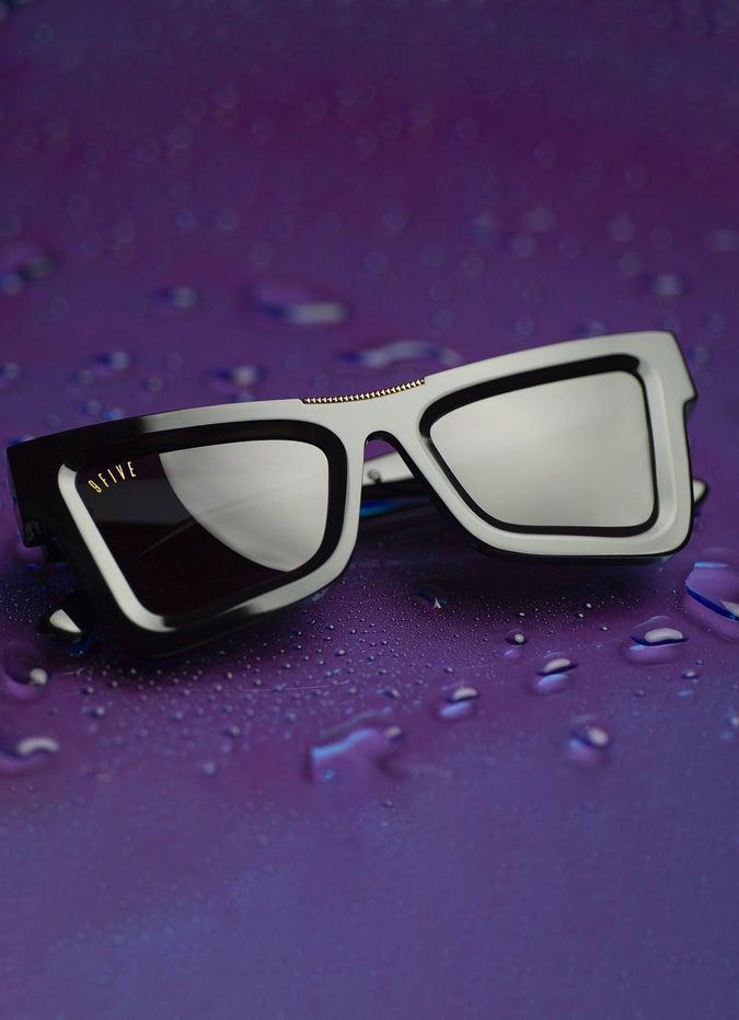9FIVE Marauder Black & 24K Gold Sunglasses