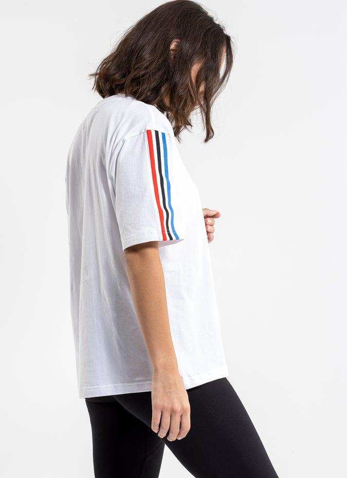adidas Adicolor Tricolor Oversize Tee - Womens