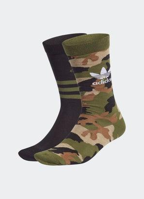 adidas Camo Crew Socks