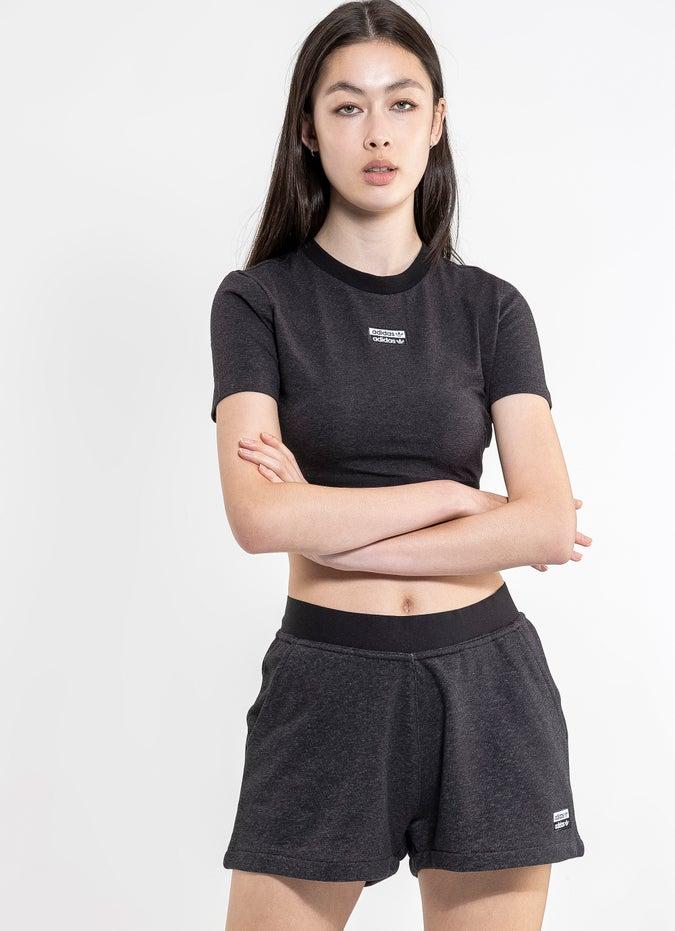 adidas Cropped Tee - Womens