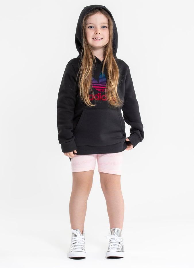 adidas Graphic Logo Print Hoodie - Kids