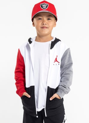 Air Jordan Colourblock Full-Zip Hoodie - Kids