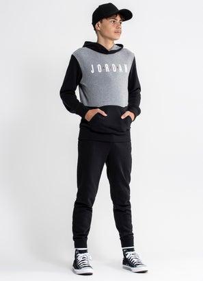 Air Jordan Colourblock Pullover Hoodie - Youth