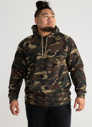 AS Colour Camo Supply Hood Plus Size