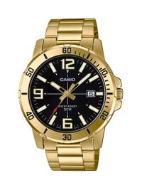 Casio MTP-VD01G-1B Stainless Steel Analogue Watch