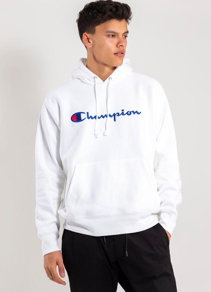 Champion Reverse Weave Script Hoodie