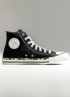 Converse Chuck Taylor All Star Edged Leopard Print High Shoe