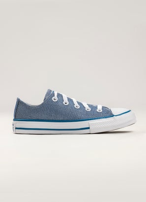 Converse Chuck Taylor All Star Glitter Textile Low Shoe