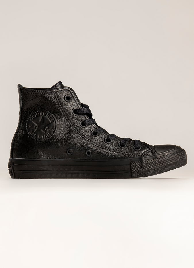 Converse Chuck Taylor All Star High Monochrome 'Leather' Shoe