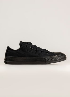 Converse Chuck Taylor All Star Low Monochrome Shoe - Kids