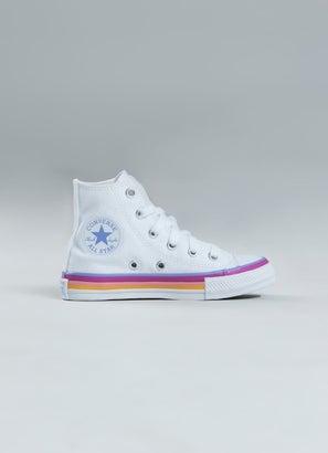 Converse Chuck Taylor All Star Striped Midsole High Shoe - Kids