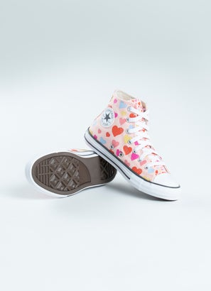 Converse Chuck Taylor Always On Hearts High Shoe - Kids
