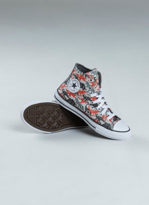Converse Chuck Taylor Dino Daze High Shoe - Kids