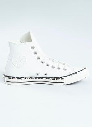 Converse Chuck Taylor Leopard Foxing Shoe - Womens