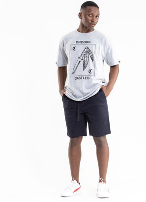"""Crooks & Castles """"Cyclone"""" Woven Shorts"""