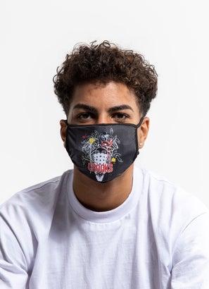 Crooks & Castles Splatter Face Mask