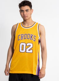 Crooks & Castles Team Arch Basketball Jersey