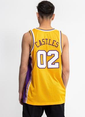 Crooks & Castles Team Arch Basketball Jersey