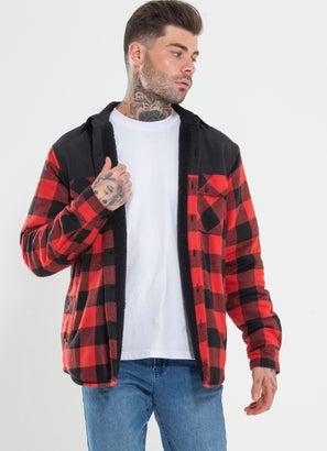 Dickies Hext Sherpa Lined Shirt Jacket