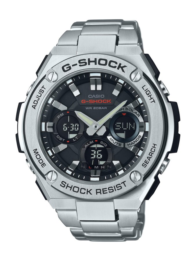 G-Shock G-Steel Series Tough Solar Digital Analogue Watch
