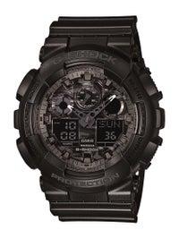 G-Shock GA-100 Series Digital Analogue Watch