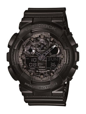 G-Shock GA-100 Series Digital Analogue Watch
