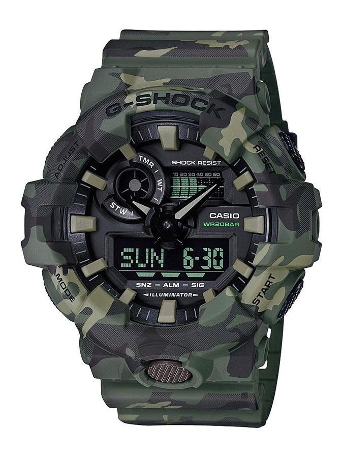 G-Shock GA700 Series Digital Analogue Watch