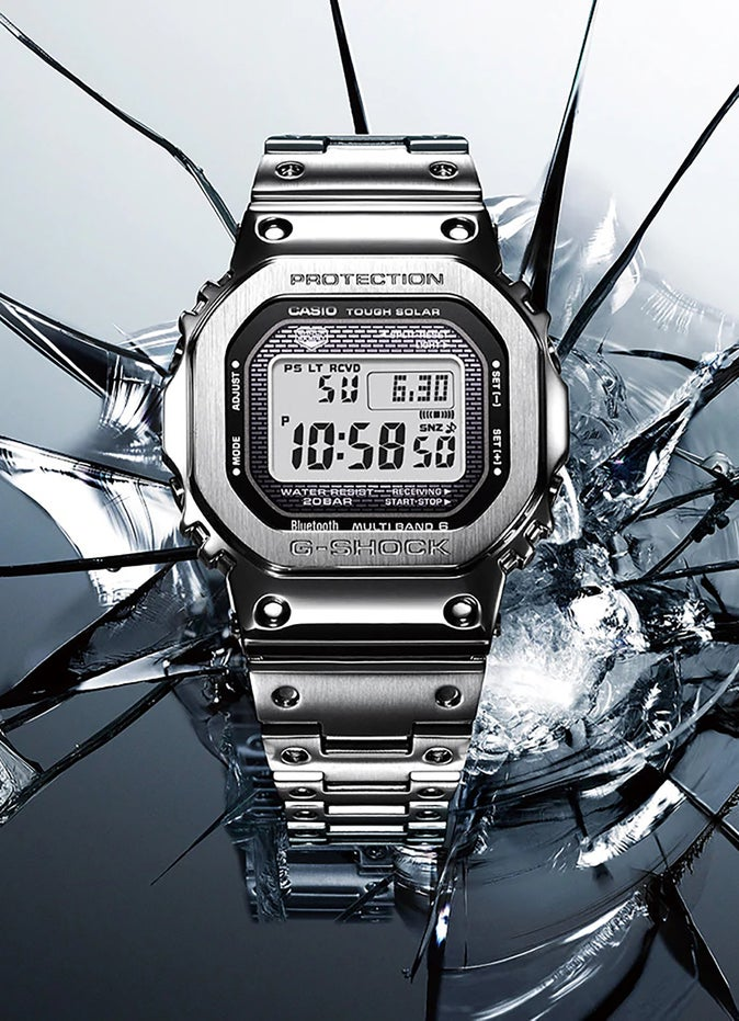 G-Shock GMWB5000 Full Metal Premium Digital Watch