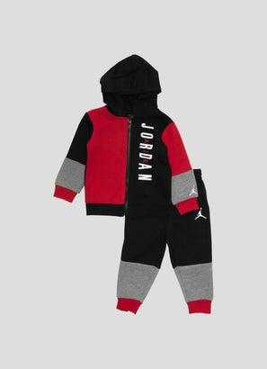 Jordan Fleece Fullzip & Pants 2pc Set - Baby