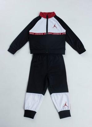 Jordan Fleece Fullzip & Pants 2pc Track Set - Baby