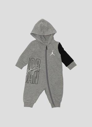 Jordan Hooded Coverall - Infant