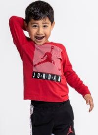 Jordan Jumpman Blinds Long Sleeve Tee - Kids