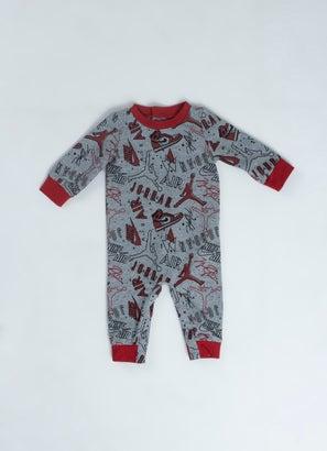 Jordan Printed Coverall - Infant