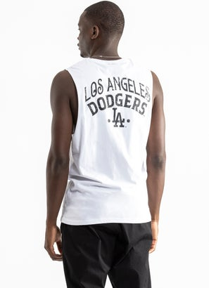 Majestic MLB Los Angeles Dodgers Muscle Tee