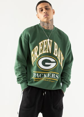 Majestic NFL Green Bay Packers Vintage Crew