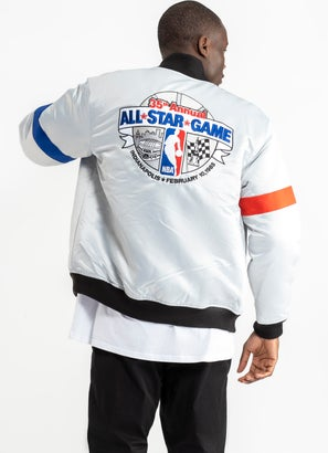 Mitchell & Ness All-Star Heavyweight Satin Jacket