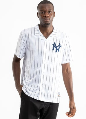 Mitchell & Ness MLB New York Yankees Cooperstown Bowling Shirt