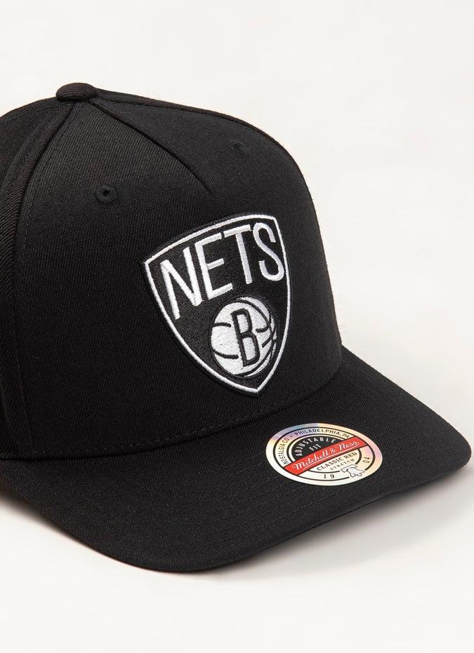 Mitchell & Ness NBA Brooklyn Nets Classic Red 110 Snapback Cap