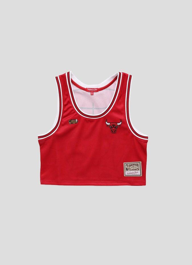 Mitchell & Ness NBA Chicago Bulls Big Face Tank - Womens