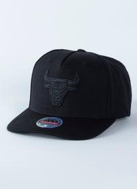 Mitchell & Ness NBA Chicago Bulls Classic Red 110 Snapback Cap